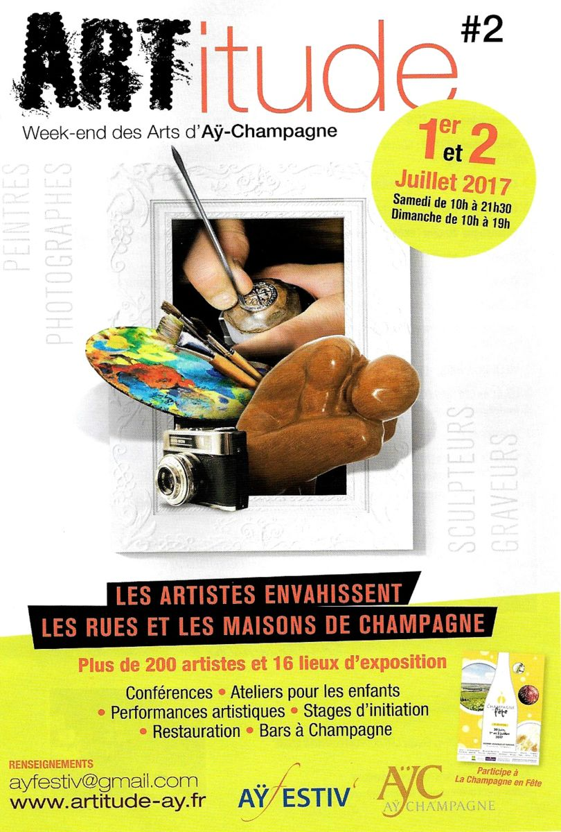 KARLY ET ANNE V, EXPOSITION COLLECTIVE, SALON ORANGE, AY, CHAMPAGNE, OEUVRE DE COLLABORATION, ARTISTES, ART CONTEMPORAIN
