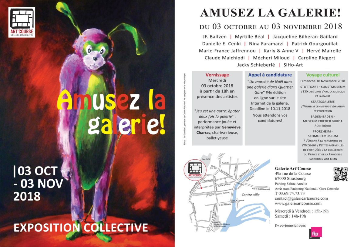 Galerie Art Course, Strasbourg, Karly et Anne V, Marson, Légo, Art contemporain, Sculptures, Peintures, Dessins, Peinture aérosol, Art textile, Collectif Me for You, Oeuvres de collaboration